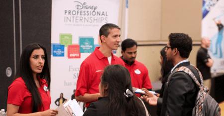Disney recruiting potential interns