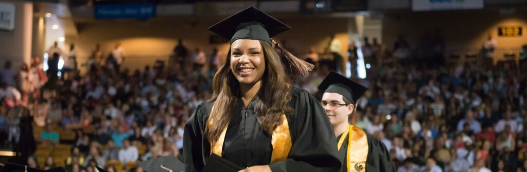 Graduate at UCF Commencement