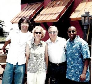 Arturo Rivera, Susie, Dr. B, and Gideon Lewis