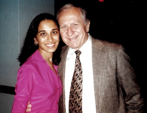 Dr. Berringer with Sarika Patel