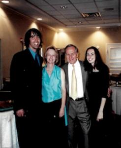 "Arturo ""Torey"" Riviera , Susie, Dr. B, and Reem Jaber"
