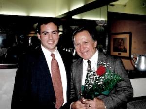 Robert Salek and Dr. Barringer