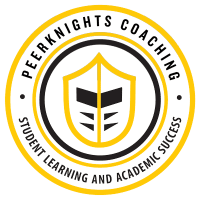 Peerknights Logo Black And Gold 400